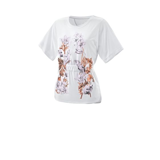 STELLA MCCARTNEY RUN PERFORMANCE GRAPHIC TEE WHITE