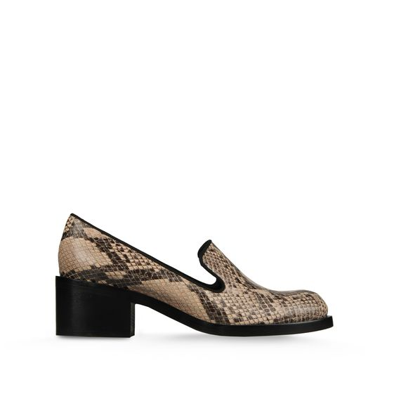 STELLA MCCARTNEY CORINNE LOAFER DUST/BLACK
