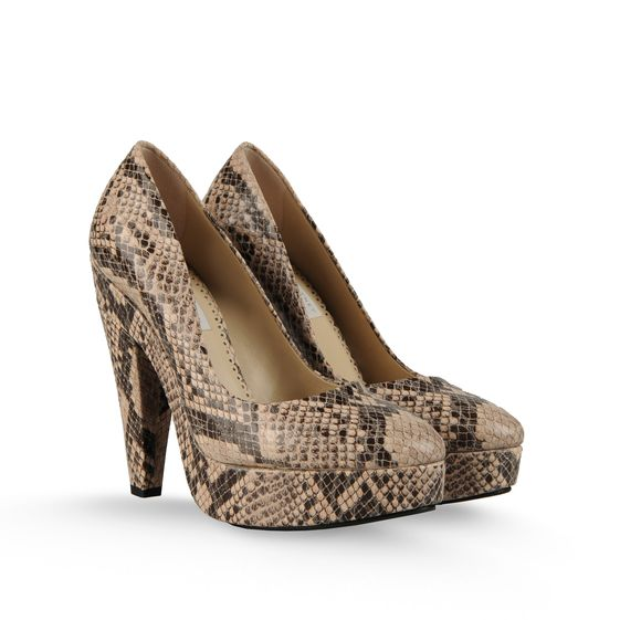 STELLA MCCARTNEY CORINNE PLATFORM PUMP DUST