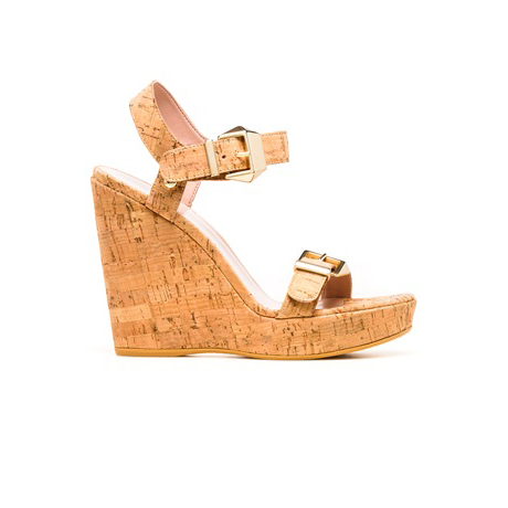 STUART WEITZMAN THE TWOFER WEDGE Natural Cork