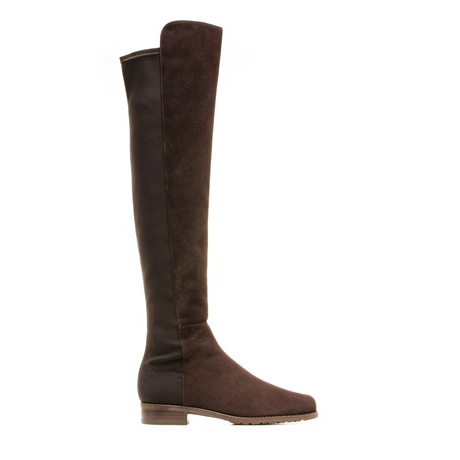 STUART WEITZMAN THE 5050 BOOT Cola Suede