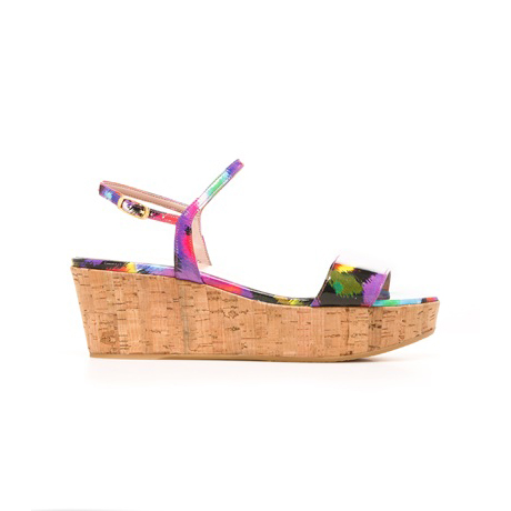 STUART WEITZMAN THE DIVERGE WEDGE Bright Candy Aniline