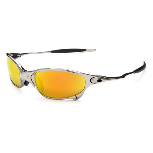 Oakley Juliet Polished Fire Iridium Sunglasses