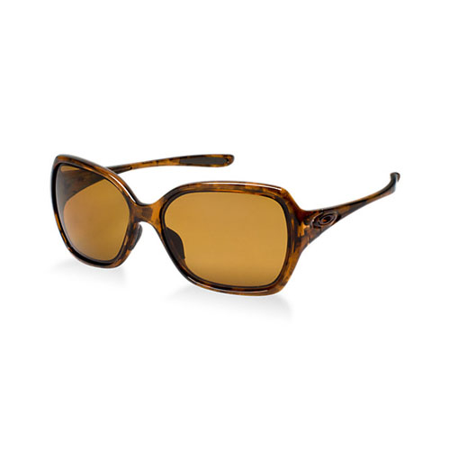 Oakley Women's OO9167 (59) OVERTIME Brown / Bronze