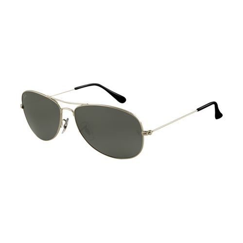 Ray Ban RB3362 Sunglasses Gunmetal Frame Crystal Grey Lens
