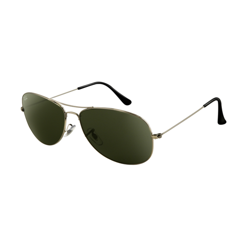 Ray Ban RB3362 Sunglasses Gunmetal Frame Crystal Green Lens