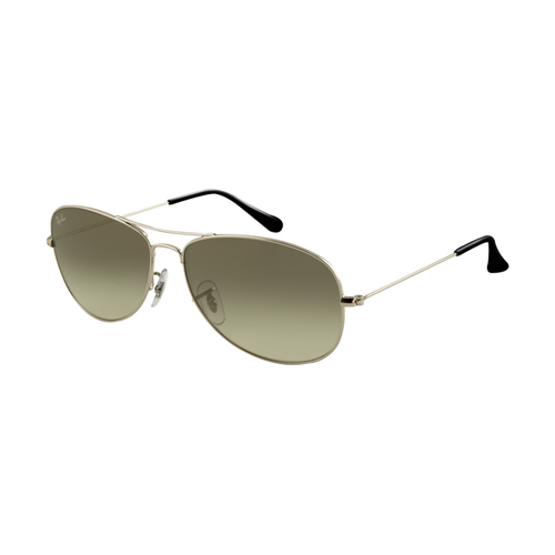 Ray Ban RB3362 Sunglasses Gunmetal Frame Crystal Green Gradient