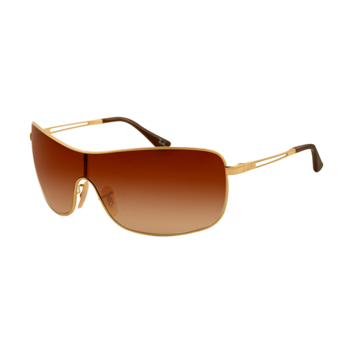 Ray Ban RB3466 Sunglasses Gold Frame Brown Gradient Lens