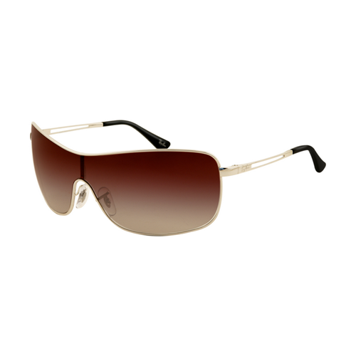 Ray Ban RB3466 Sunglasses Arista Frame Deep Brown Gradient Lens