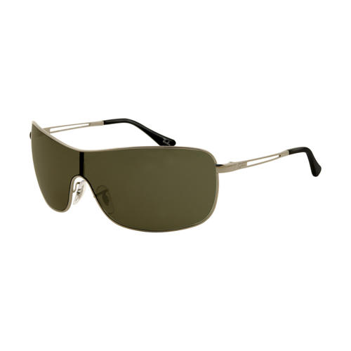 Ray Ban RB3466 Sunglasses Arista Frame Green Polarized Lens