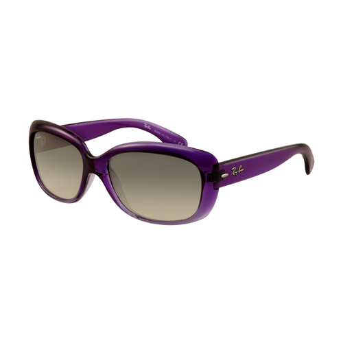 Ray Ban RB4101 Jackie Ohh Sunglasses Purple Frame Crystal Brown