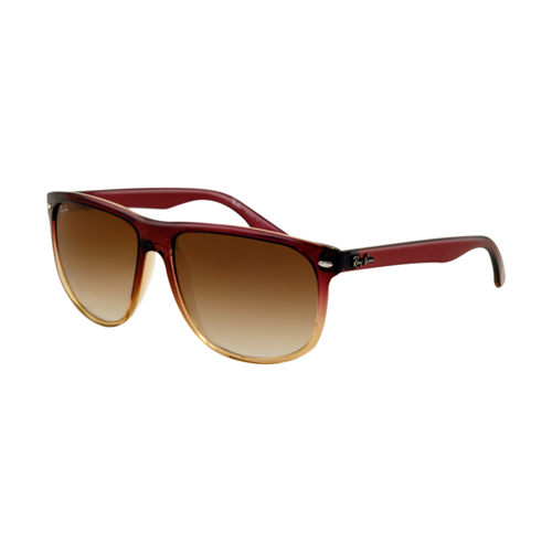 Ray Ban RB4147 Sunglasses Brown Frame Crystal Light Brown Gradie