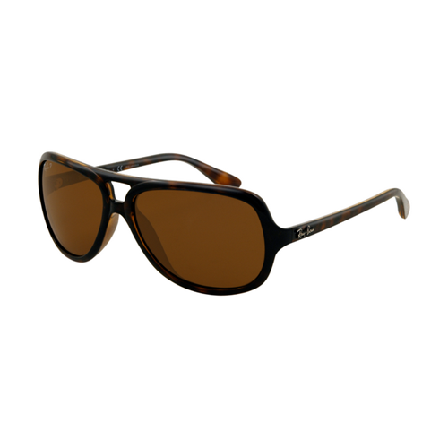 Ray Ban RB4162 Sunglasses Light Havana Frame Crystal Brown Polar