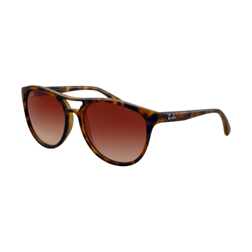 Ray Ban RB4170 Sunglasses Rubberized Havana Frame Brown Gradient