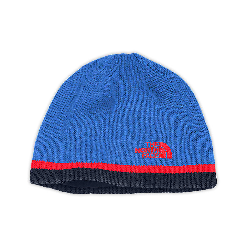 NORTH FACE YOUTH KEEN BEANIE JAKE BLUE