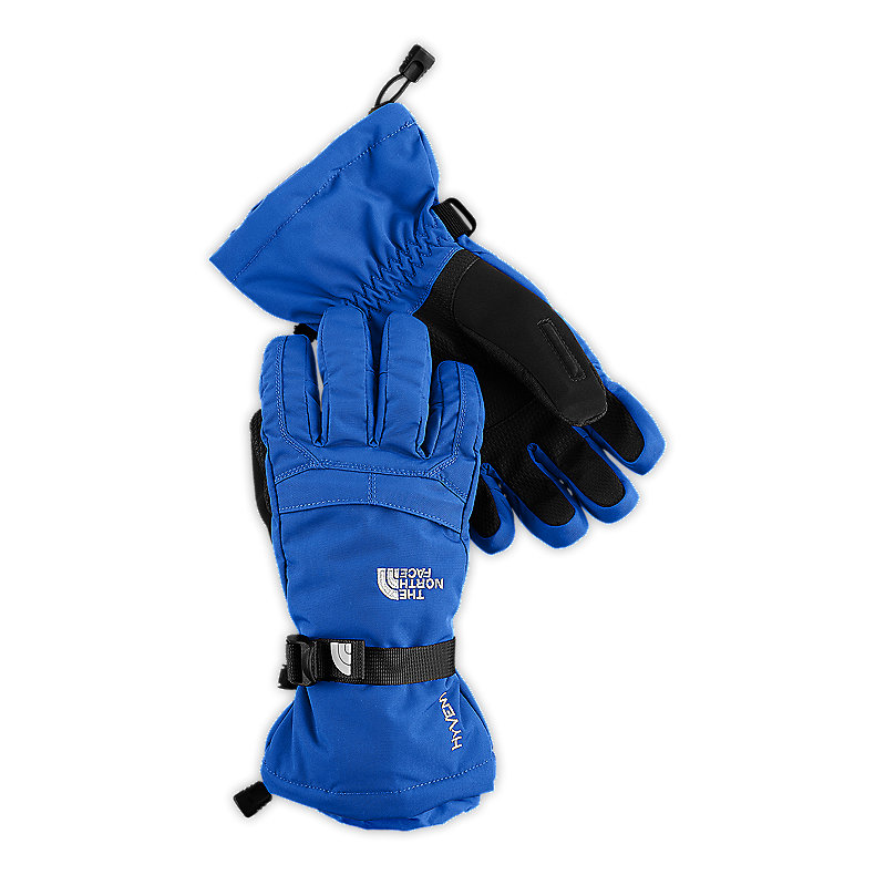 NORTH FACE BOYS MONTANA GLOVE JAKE BLUE / TNF BLACK