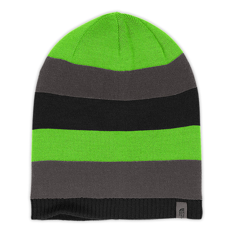 NORTH FACE YOUTH REVERSIBLE LEAVENWORTH BEANIE TNF BLACK