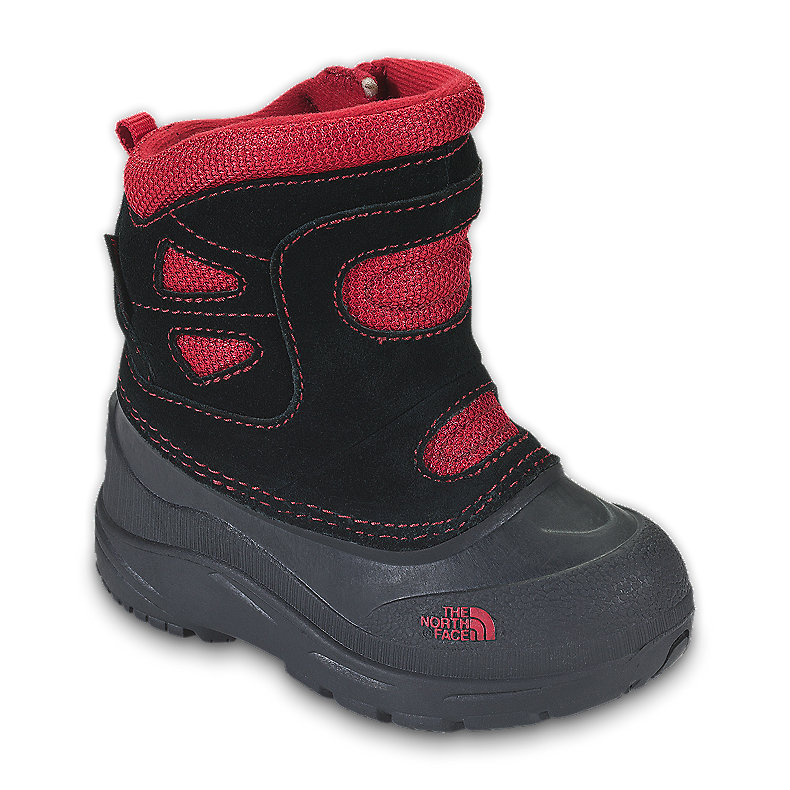 NORTH FACE BOYS TODDLER SNOW PLOUGH PULL-ON TNF BLACK / TNF RED