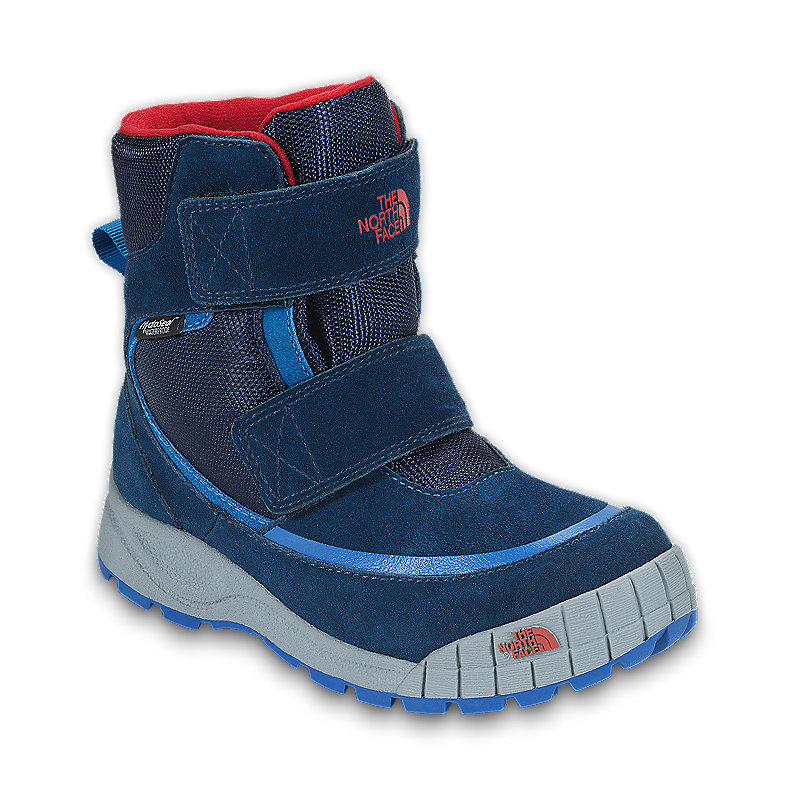 NORTH FACE BOYS SNOWCINDER DEEP WATER BLUE / JAKE BLUE