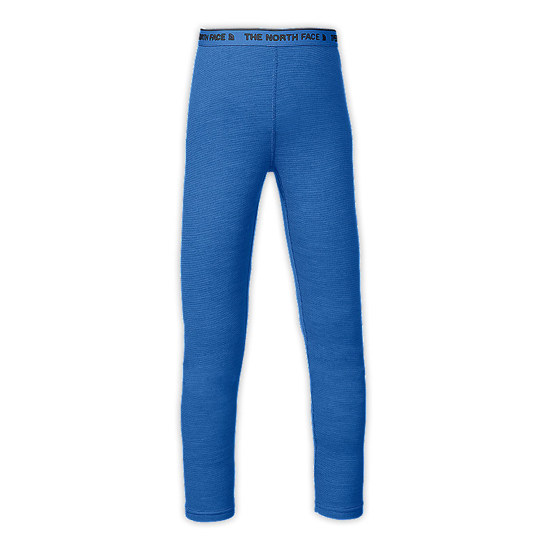 NORTH FACE BOYS BASELAYER TIGHTS JAKE BLUE