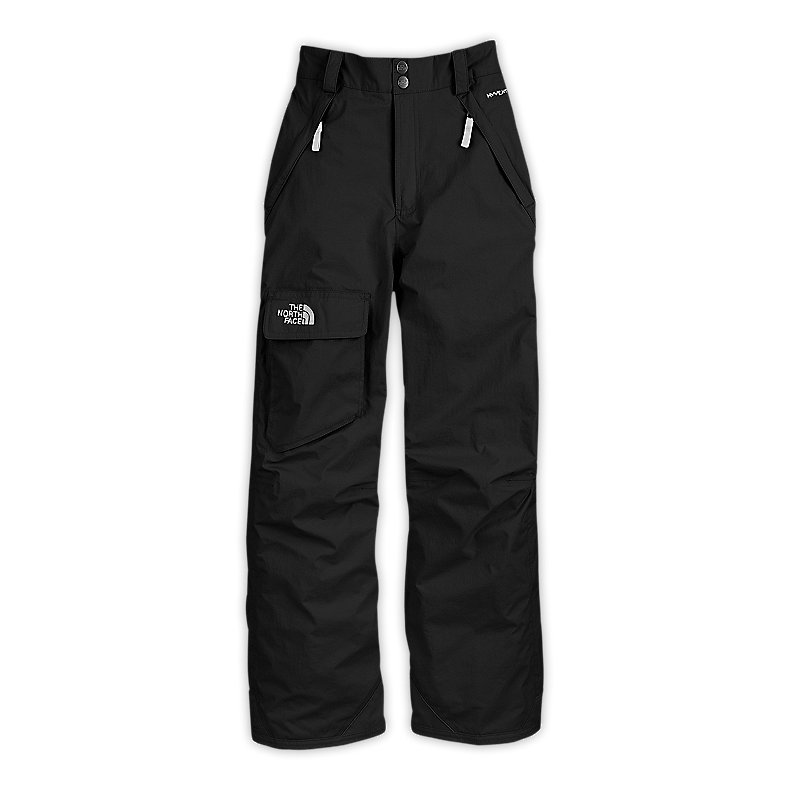 NORTH FACE BOYS FREEDOM INSULATED PANT TNF BLACK