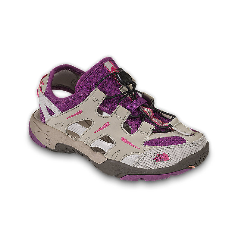 NORTH FACE GIRLS HEDGEFROG FOSSIL IVORY / MAGIC MAGENTA