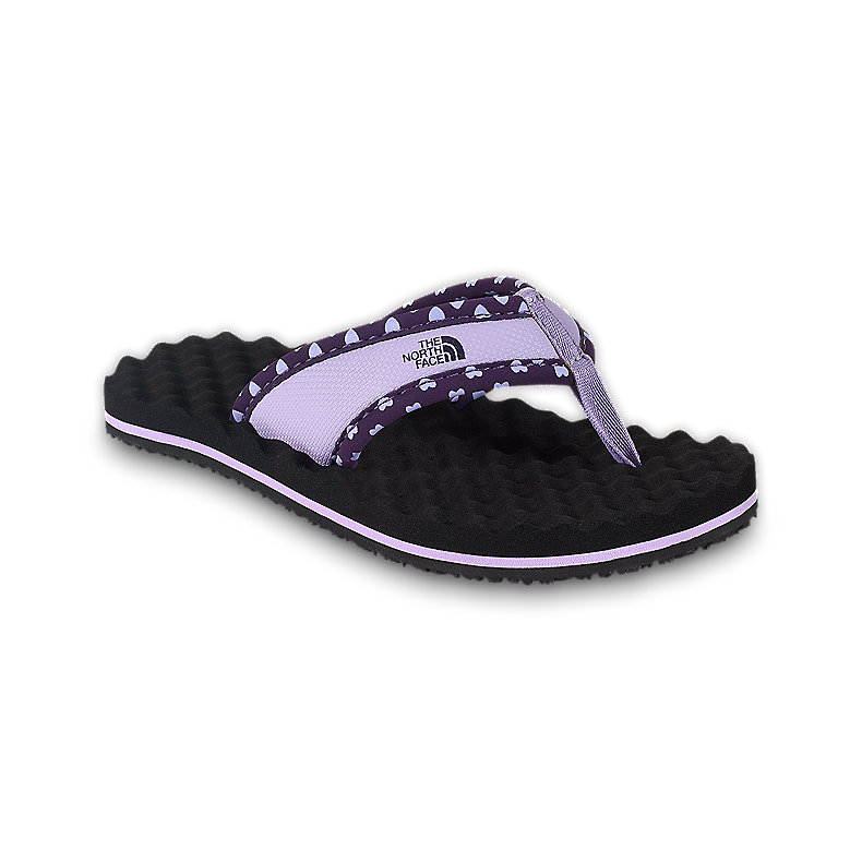 NORTH FACE GIRLS BASE CAMP FLIP-FLOP DEEPPURPLE / PASTELLILACPRP