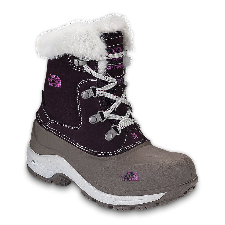 NORTH FACE GIRLS MCMURDO BOOT BAROQUE PURPLE / MOONLIGHT IVORY