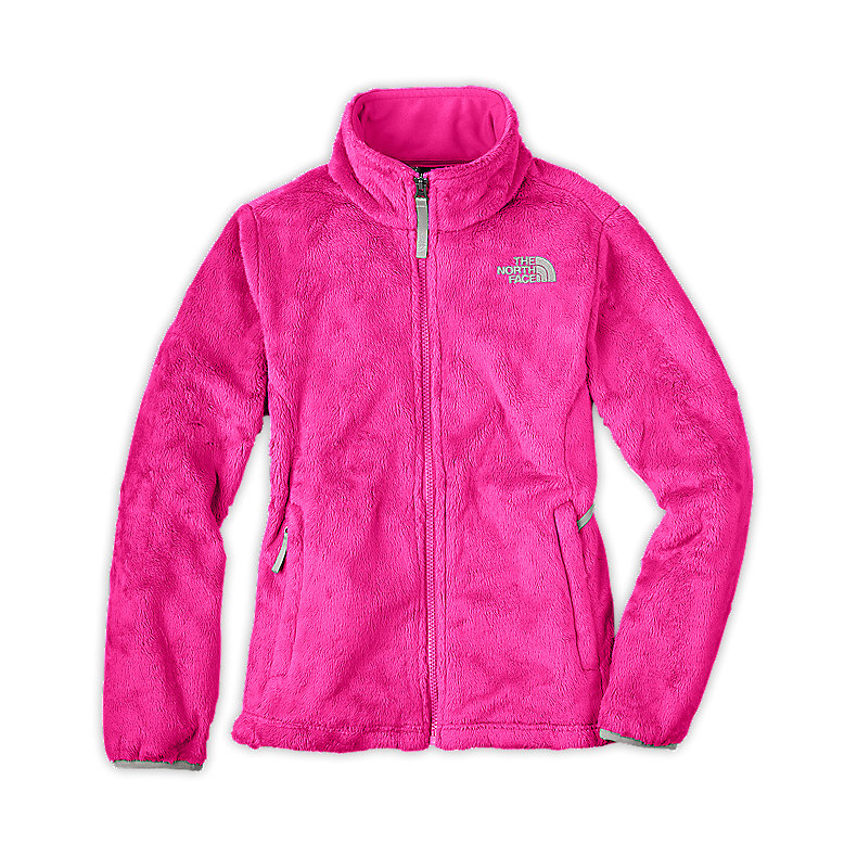 NORTH FACE GIRLS OSOLITA JACKET RAZZLE PINK