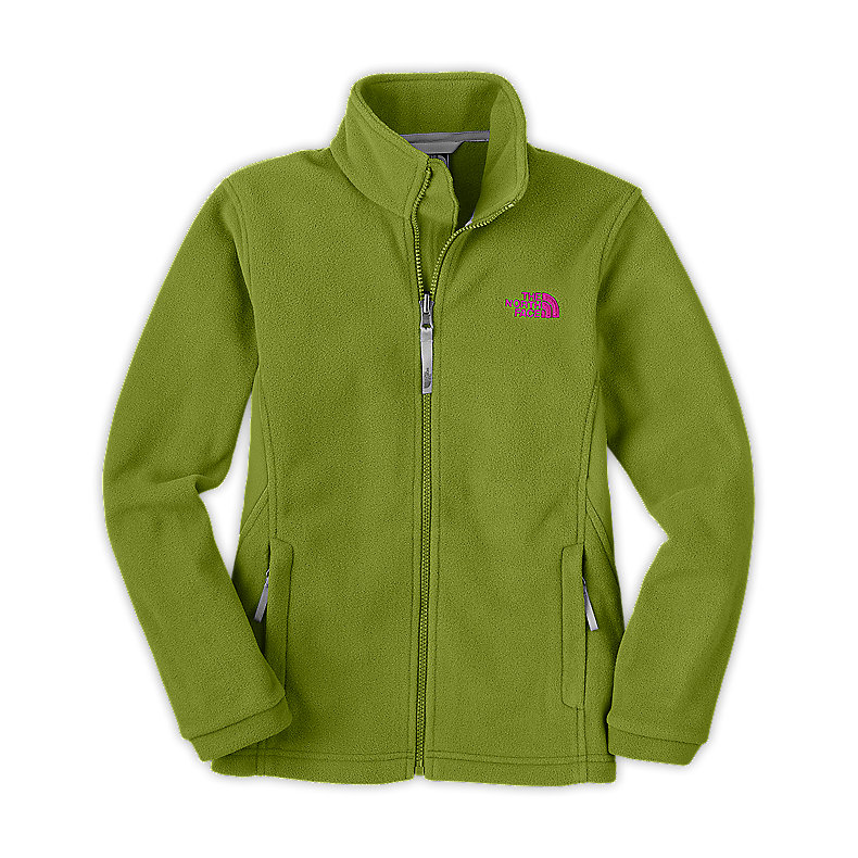NORTH FACE GIRLS KHUMBU JACKET GRIP GREEN