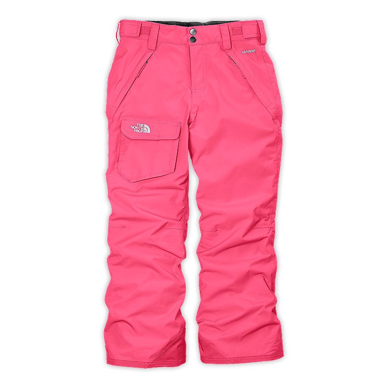 NORTH FACE GIRLS FREEDOM INSULATED PANT CHA CHA PINK
