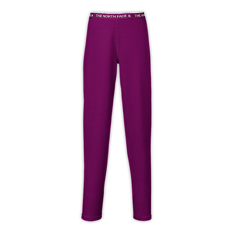 NORTH FACE GIRLS BASELAYER TIGHTS PREMIERE PURPLE