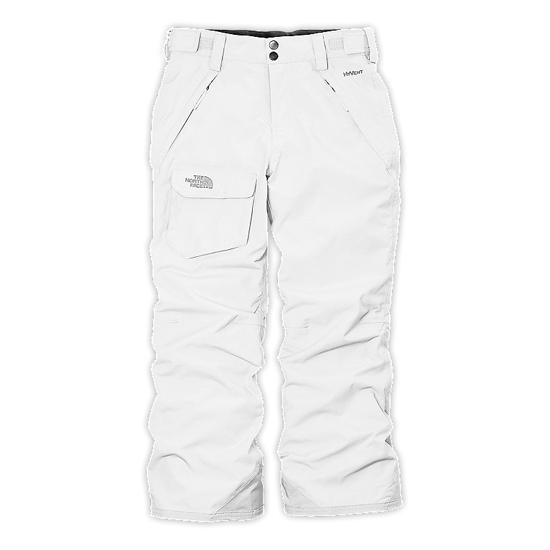 NORTH FACE GIRLS FREEDOM INSULATED PANT TNF WHITE