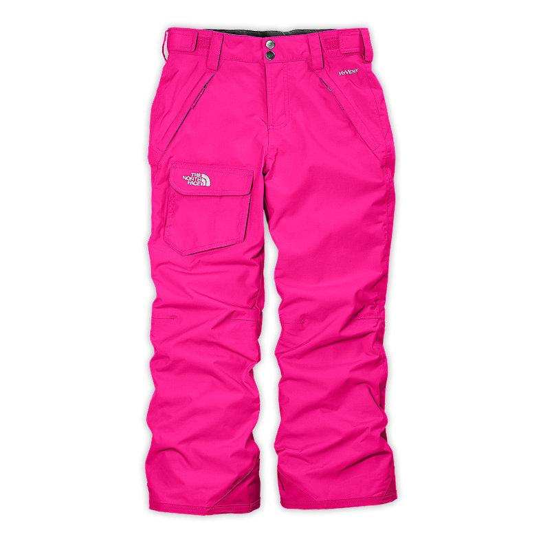 NORTH FACE GIRLS FREEDOM INSULATED PANT RAZZLE PINK