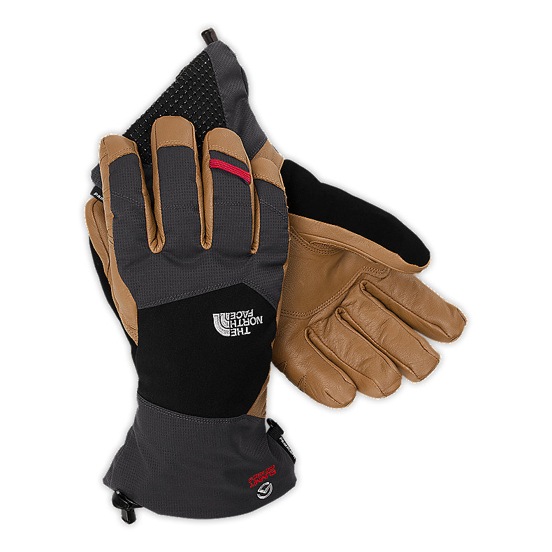 NORTH FACE KELVIN GLOVE ASPHALT GREY / UTILITY BROWN