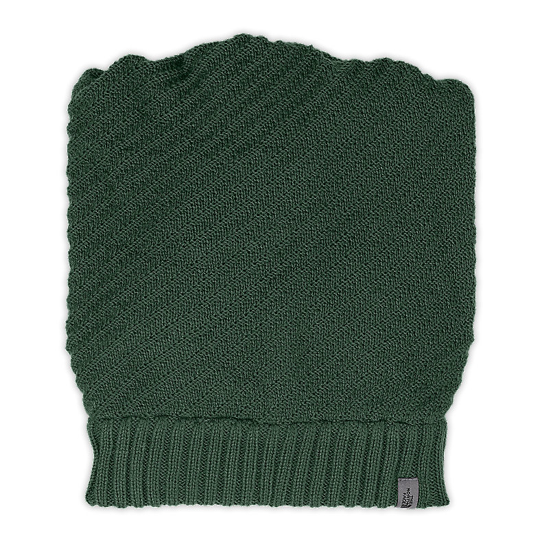 NORTH FACE GAITER BEANIE NOAH GREEN