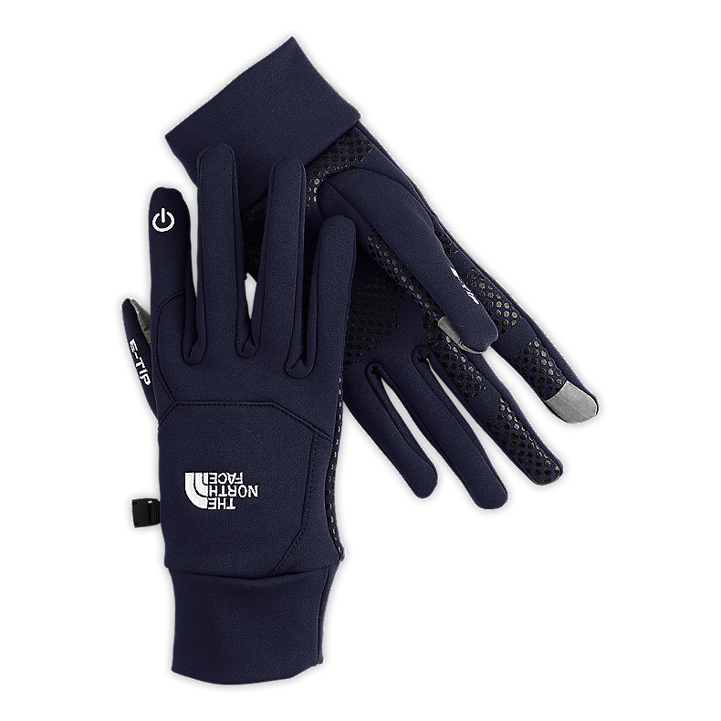 NORTH FACE ETIP GLOVE DEEP WATER BLUE