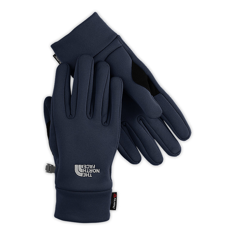 NORTH FACE POWER STRETCH GLOVE DEEP WATER BLUE