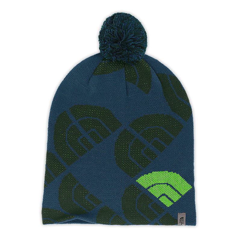 NORTH FACE HUE G. BEANIE ECLIPSE BLUE