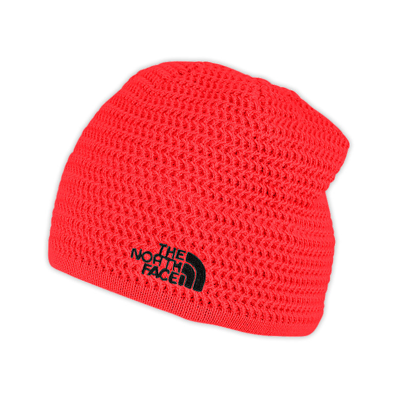 NORTH FACE WICKED BEANIE FIERY RED