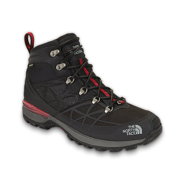 NORTH FACE MEN ICEFLARE MID GTX TNF BLACK / TNF RED