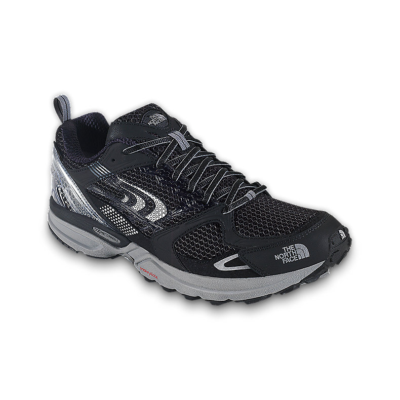 NORTH FACE MEN DOUBLE-TRACK GTX XCR SHOE BLACK / METALLIC SILVER