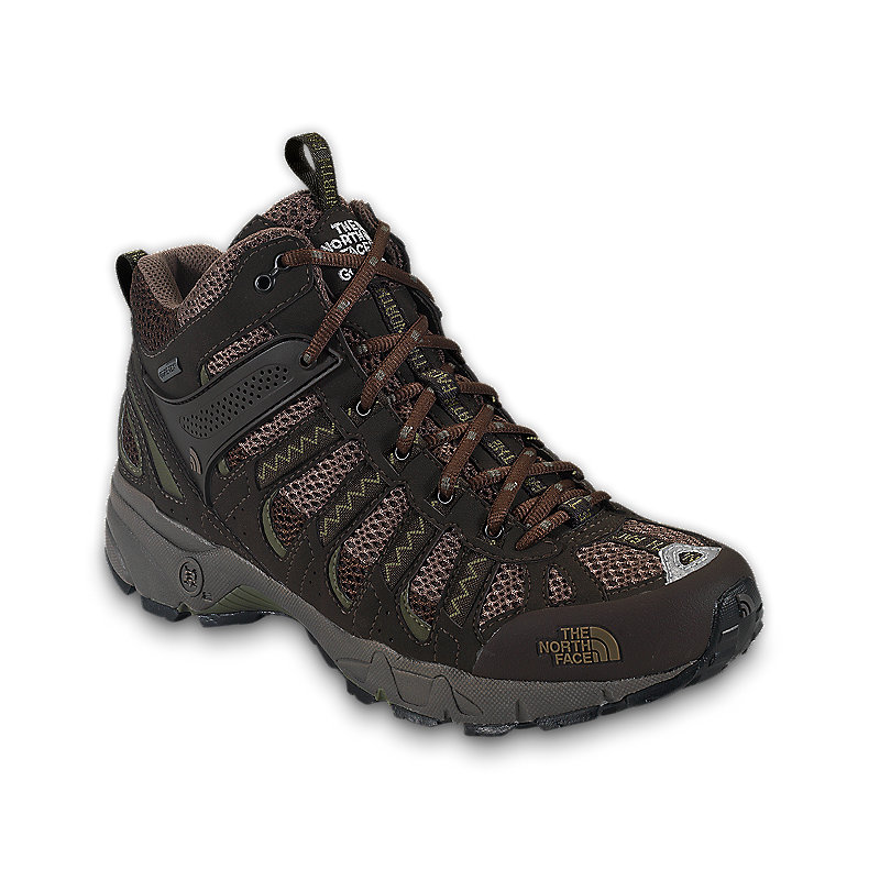 NORTH FACE MEN ULTRA 105 GTX XCR MID SHOE DEMITASSEBN / BURNTOLIVEGRN