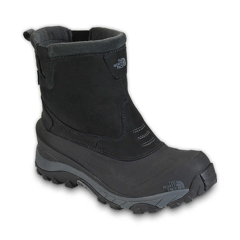 NORTH FACE MEN ARCTIC PULL-ON II BOOT BLACK / DARK SHADOW GREY
