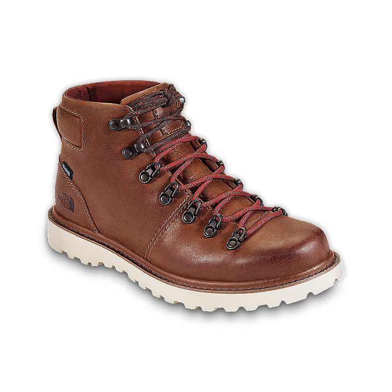 "NORTH FACE MEN BELLTOWN 6"" CAMEL BROWN / SLICKROCK RED"