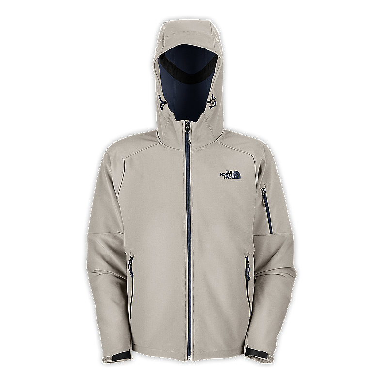 NORTH FACE MEN APEX ANDROID HOODIE ETHER GREY