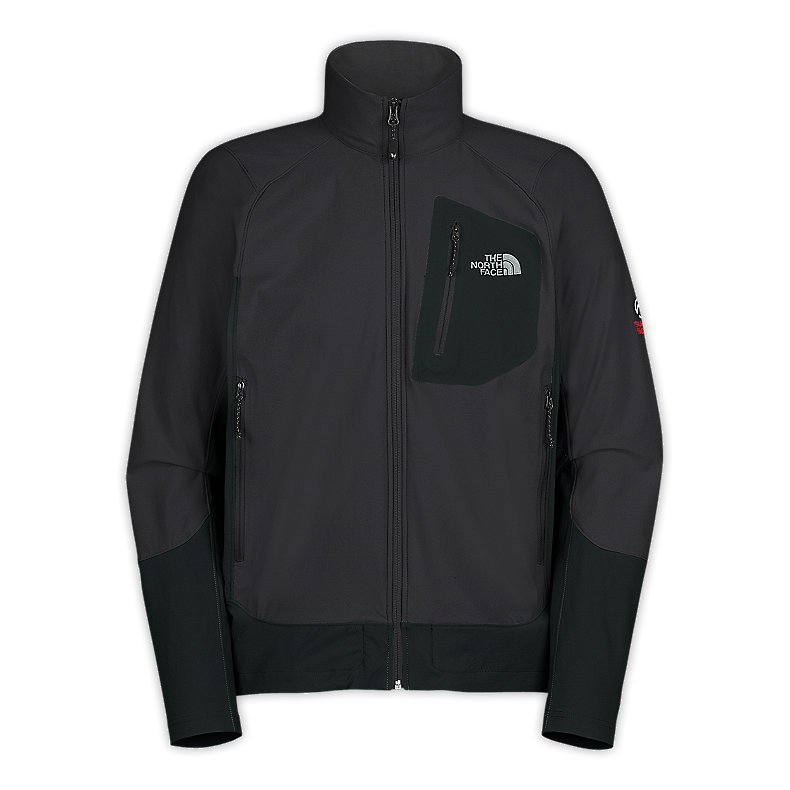 NORTH FACE MEN APEX ELIXIR JACKET ASPHALT GREY