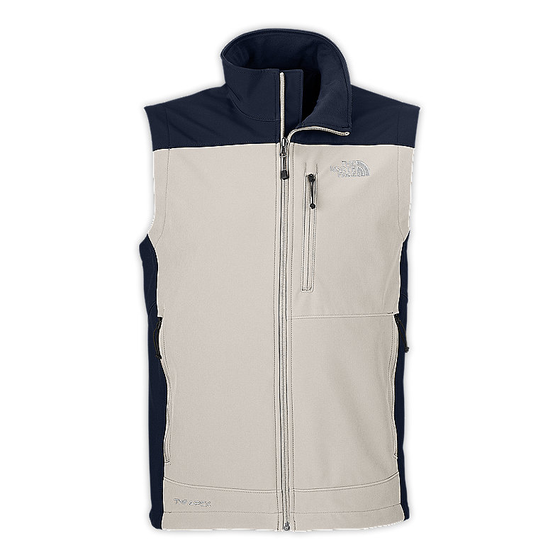 NORTH FACE MEN APEX BIONIC VEST ETHER GREY / DEEP WATER BLUE