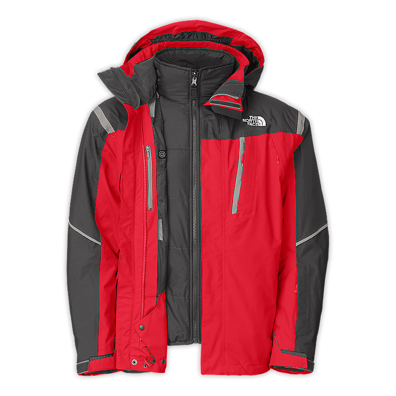 NORTH FACE MEN VORTEX TRICLIMATE TNF RED