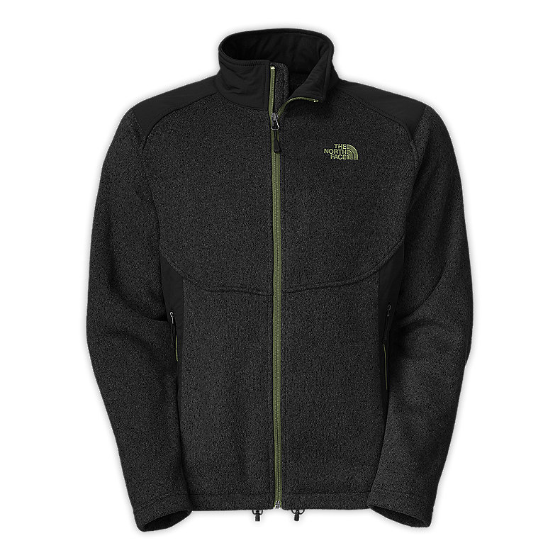 NORTH FACE MEN UNITAS FLEECE JACKET TNF BLACK